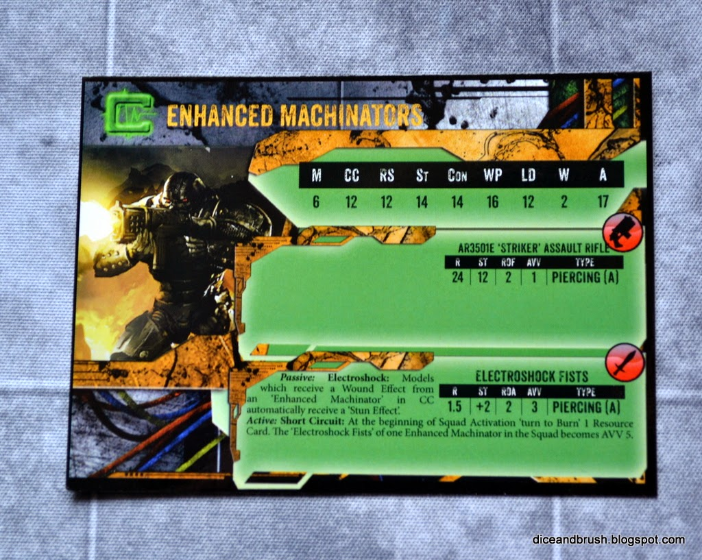 Tarjeta Cybertronic Enhanced Machinators card