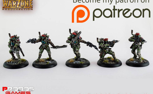 Patreon abril: Imperial Special Forces