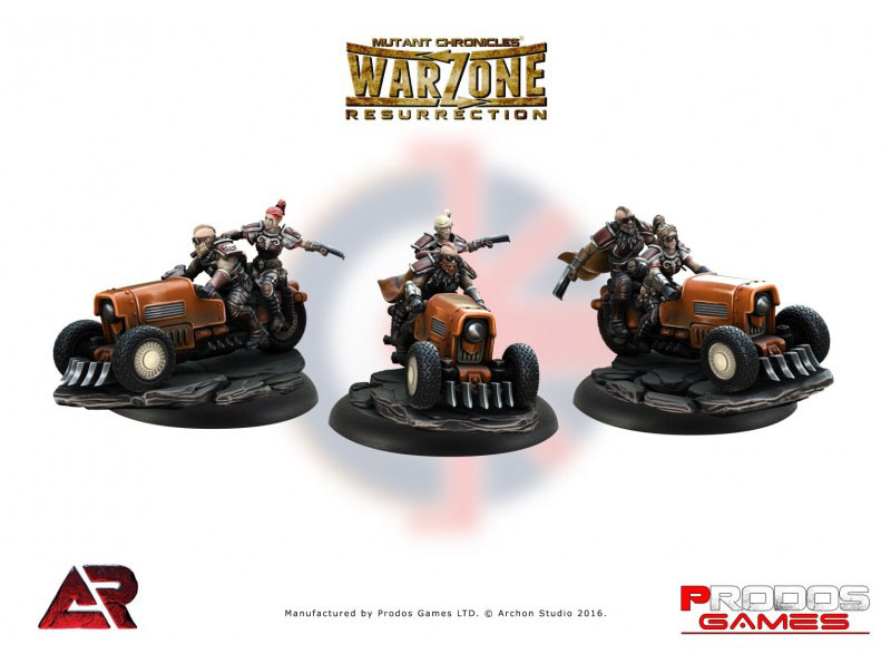 Motos Fenris de Imperial Warzone Resurrection