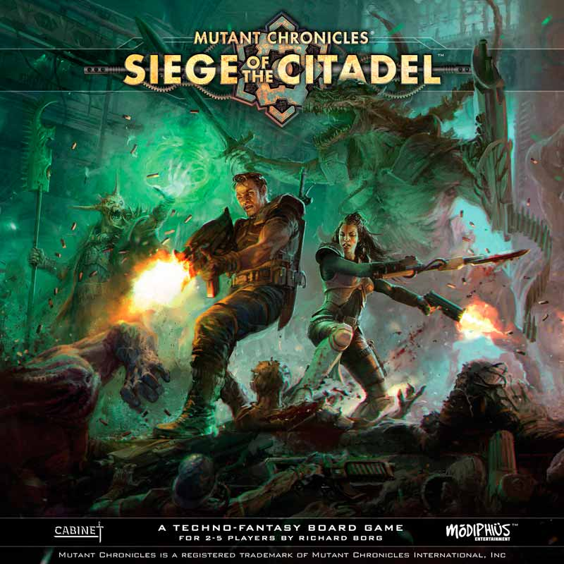 Siege of the Citadel portada