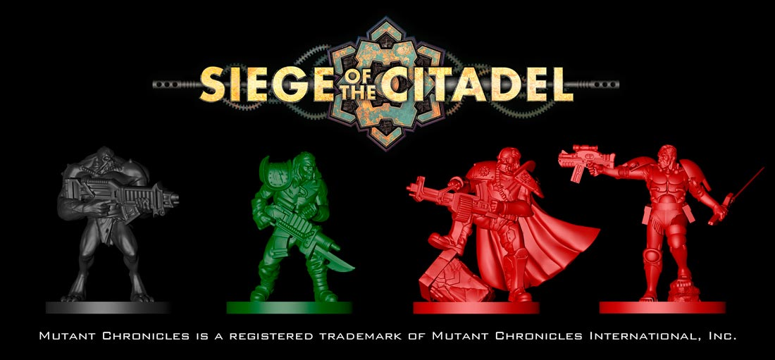 Siege of the Citadel miniaturas