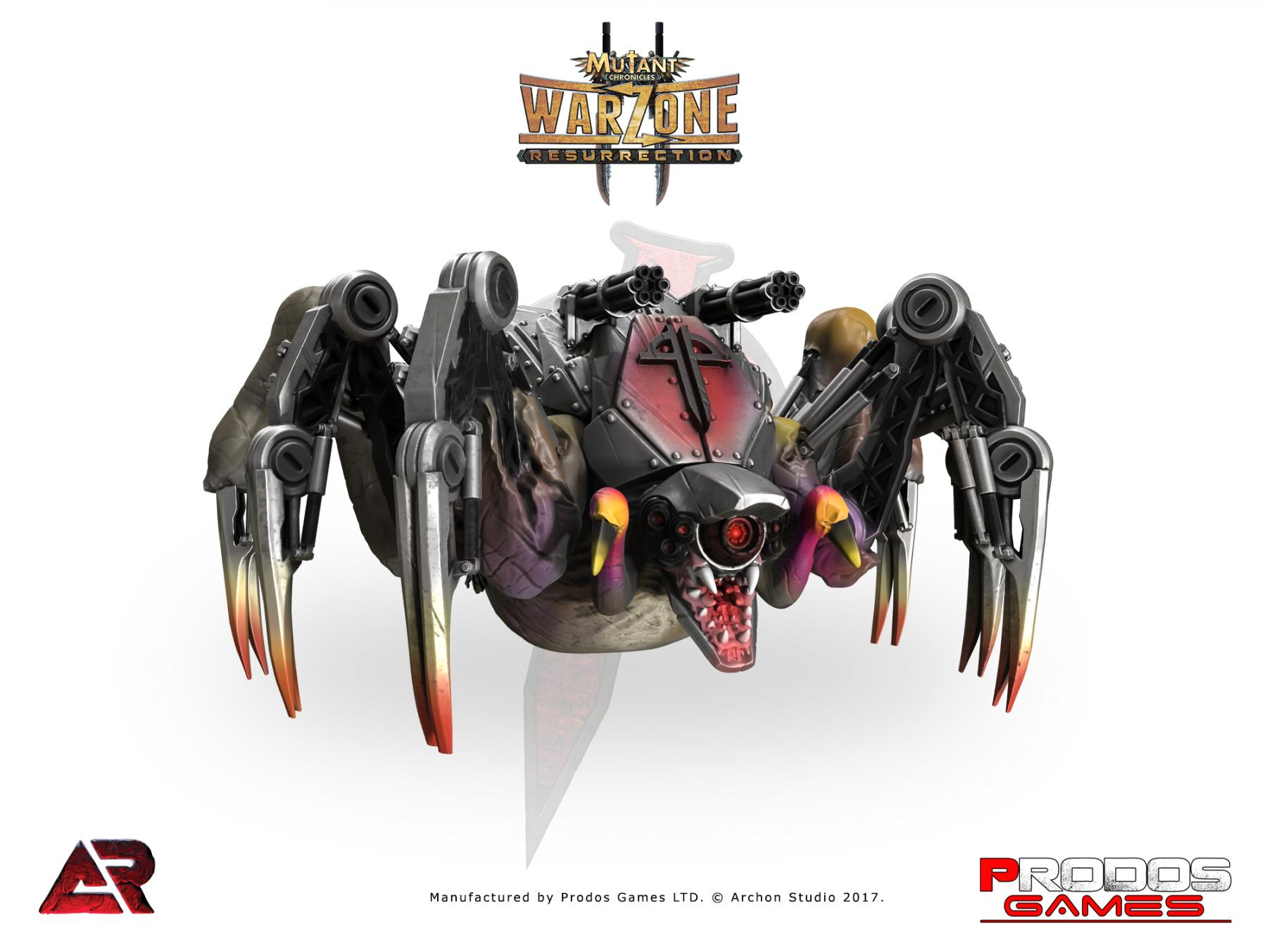 Asalto Blindado Warzone Resurrection: Dark Legion Wolf Spider
