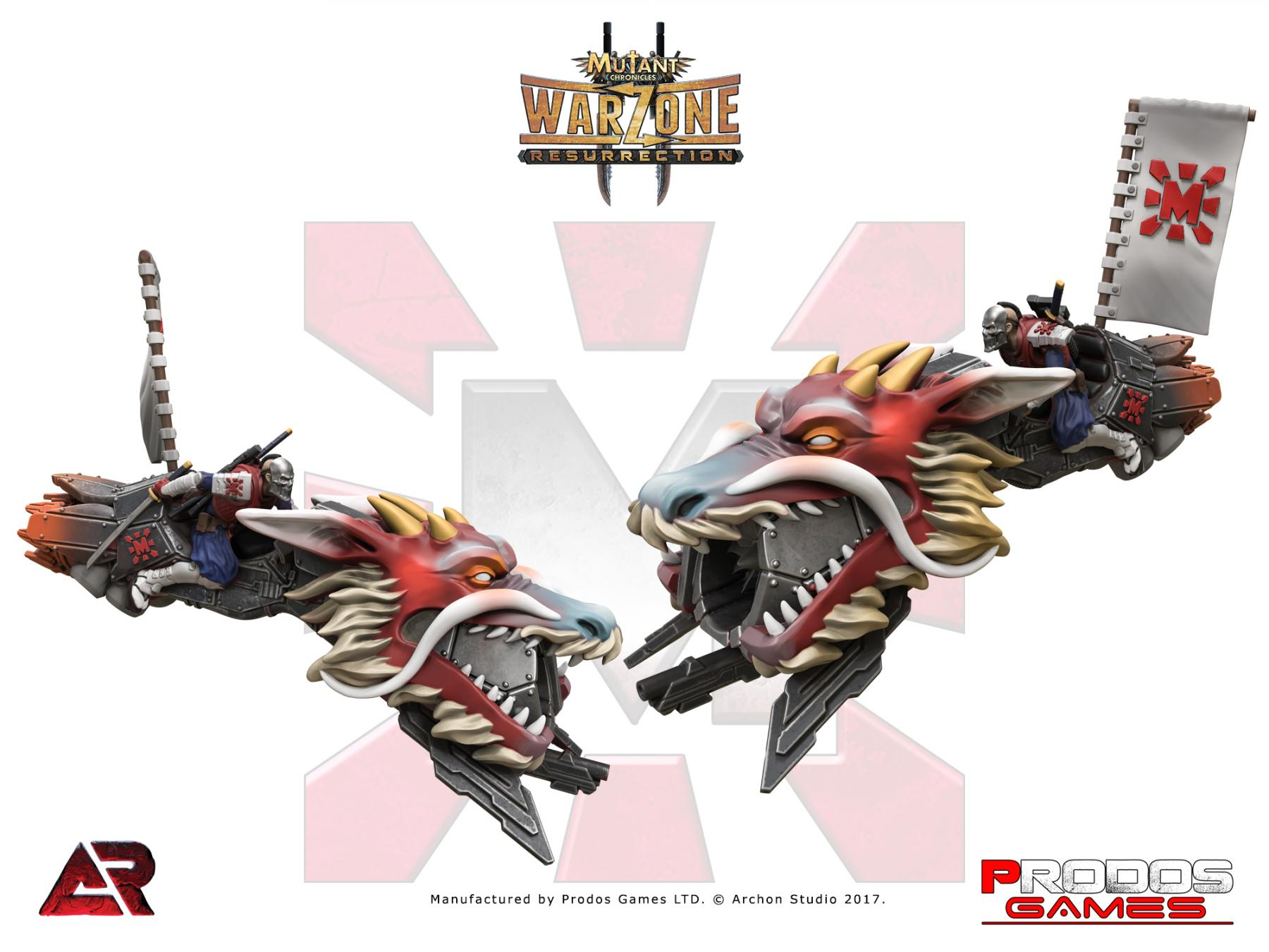 Asalto Blindado Warzone Resurrection: Mishima Dragon Bike