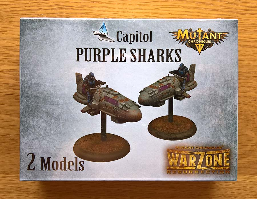 Purple Sharks de Capitol