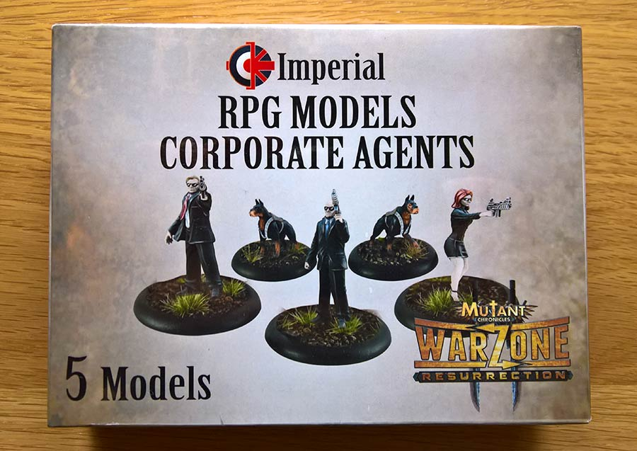 Warzone Resurrection RPG models Imperial