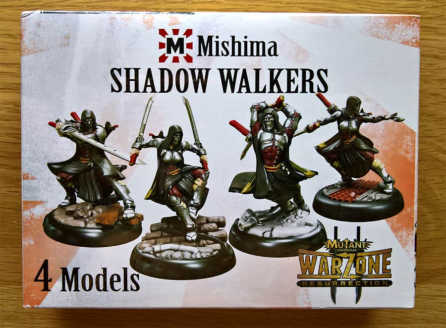 Shadow Walkers de mishima