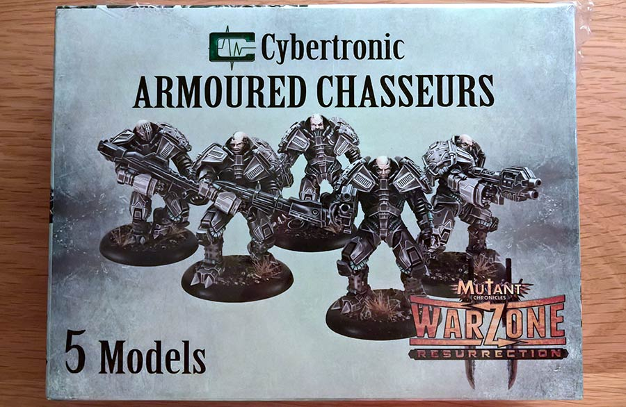Armoured Chasseurs de Cybertronic